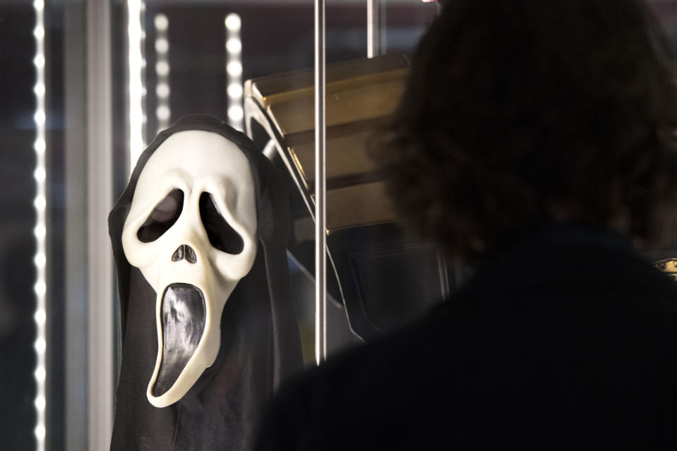 A Ghostface mask used in Scream (Victoria Jones/PA)