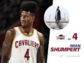 """<p>With his signature flattop hairdo and a wardrobe filled with designer clothes, Iman Shumpert is one of the most expressive athletes in the NBA. Off the court, Shumpert's style is far from casual — he often wears """"<i>concepty"""" </i>clothes, experimenting with layers and vibrant colors. But perhaps his best look was during Halloween, when he dressed in pink latex as the character Lollipop from Ice Cube's film <i>Friday After Next</i>. <a href=""""https://www.instagram.com/p/9iKrpSJrXM/?taken-by=imanshumpert&hl=en"""" rel=""""nofollow noopener"""" target=""""_blank"""" data-ylk=""""slk:Check it out."""" class=""""link rapid-noclick-resp"""">Check it out.</a> <i>Photo: Getty Images / Instagram.com</i></p>"""