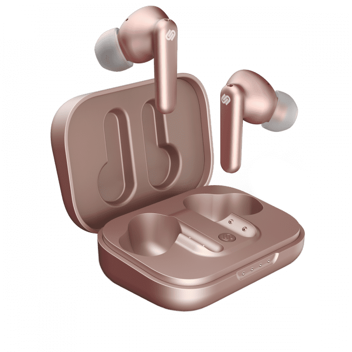 <p>The <span>Urbanista London</span> ($119) has a total 25-hour playtime, active noise cancelling mode, ambient sound mode, in-ear detection, and is water resistant. It can be charged with a Qi-certified wireless charger. It comes in burgandy, navy blue, black, rose gold, and pearl white.</p>