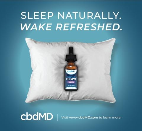In Conjunction with Daylight Savings, cbdMD Launches Highly Anticipated CBD Sleep Aid