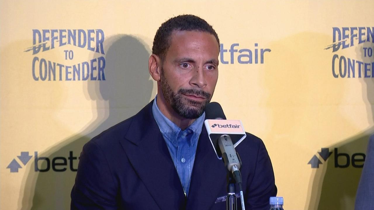 Rio Ferdinand says boxing will help channel anger over his wife's death as he targets title fight