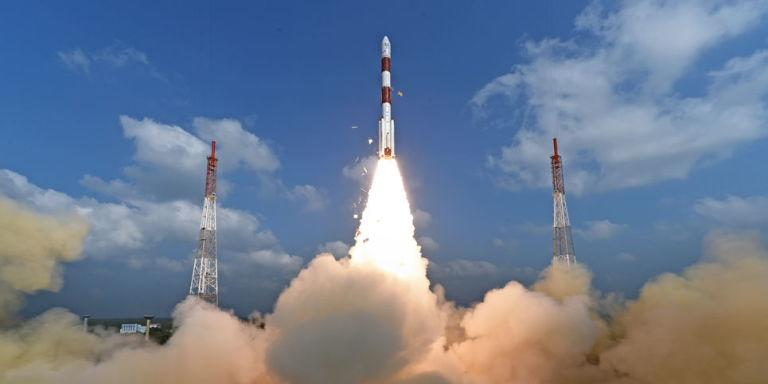 Photo credit: ISRO / AP
