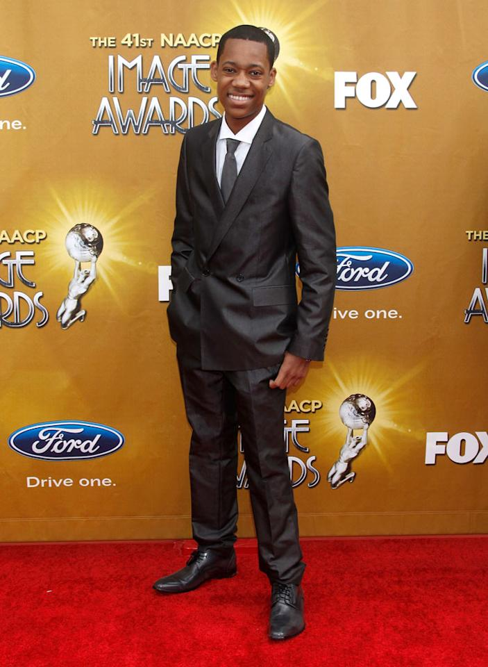 Tyler James Williams arrives at The 41st NAACP Image Awards at The Shrine Auditorium on February 26, 2010 in Los Angeles, California.