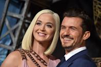 "<p>Katy Perry and Orlando Bloom welcomed their daughter, Daisy Dove Bloom, this year. </p> <p>The couple, who are both Unicef Goodwill Ambassadors, shared the news via <a href=""https://www.instagram.com/p/CEYL6Rwlpen/"" rel=""nofollow noopener"" target=""_blank"" data-ylk=""slk:Unicef's Instagram feed"" class=""link rapid-noclick-resp"">Unicef's Instagram feed</a>.</p> <p>""We are floating with love and wonder from the safe and healthy arrival of our daughter,"" they wrote.</p>"