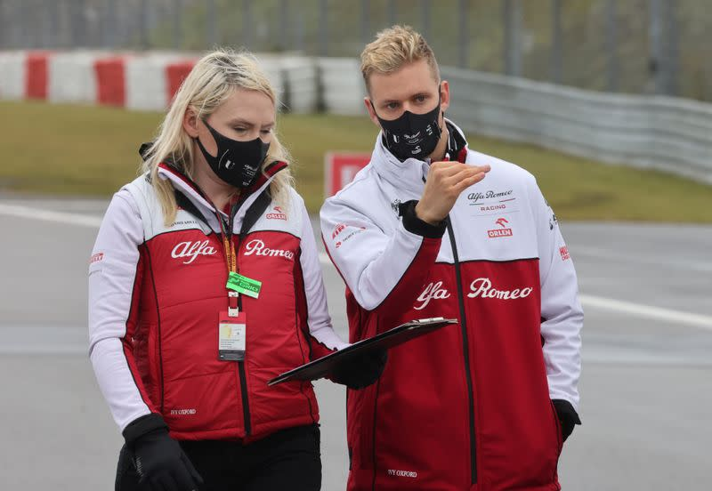 Fog ends Mick Schumacher's practice hopes in Germany