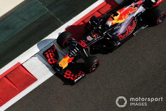 """Max Verstappen, Red Bull RB15 <span class=""""copyright"""">Zak Mauger / Motorsport Images</span>"""