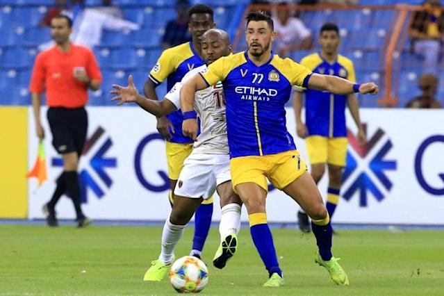 Giuliano was on target twice to send Al Nassr into the quarter-finals of the AFC Champions League (AFP Photo/-)