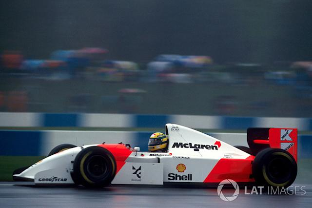 "1993: McLaren-Ford MP4/8 <span class=""copyright"">Sutton Motorsport Images</span>"