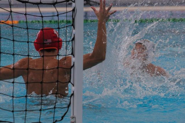 <p>Singapore beat Malaysia 17-4 to win the Republic's 27th SEA Games gold medal in men's water polo. The win streak is the country's longest in the sport. Photo: Fadza Ishak/Yahoo News Singapore </p>