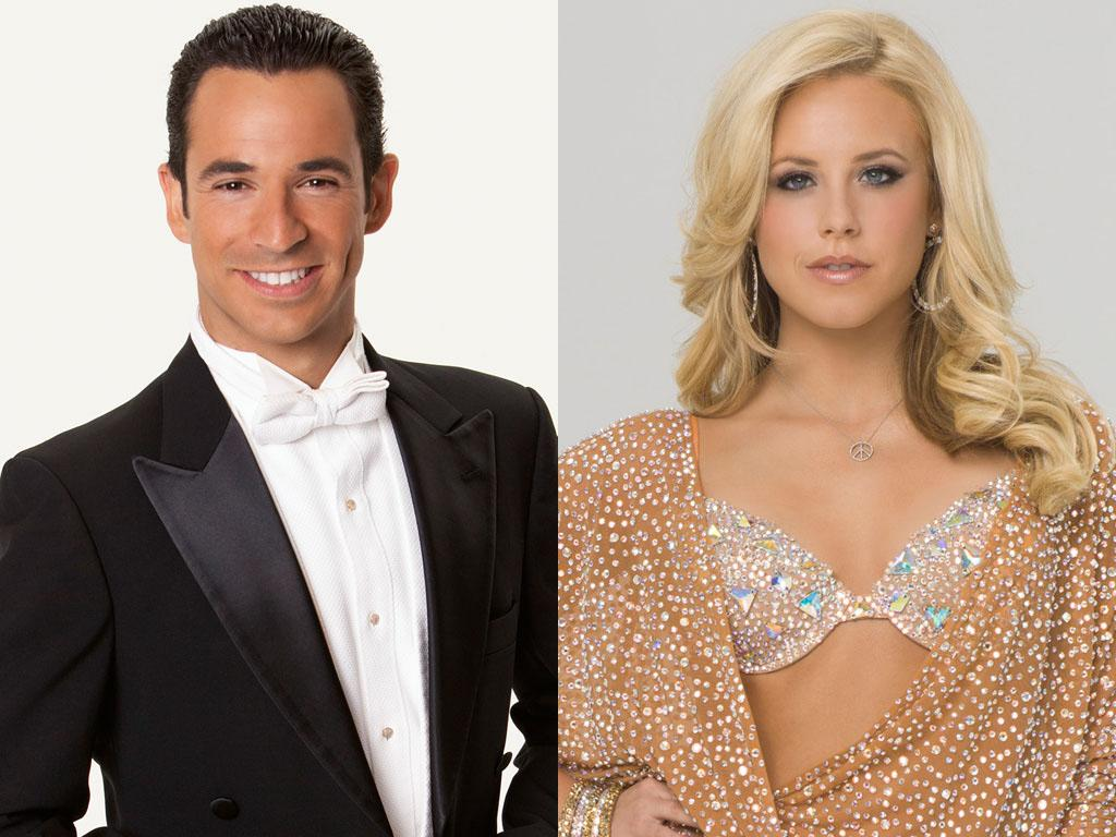 "Helio Castroneves will be dancing with Chelsie Hightower this fall on ABC's ""Dancing With the Stars: All-Stars,"" premiering September 23."