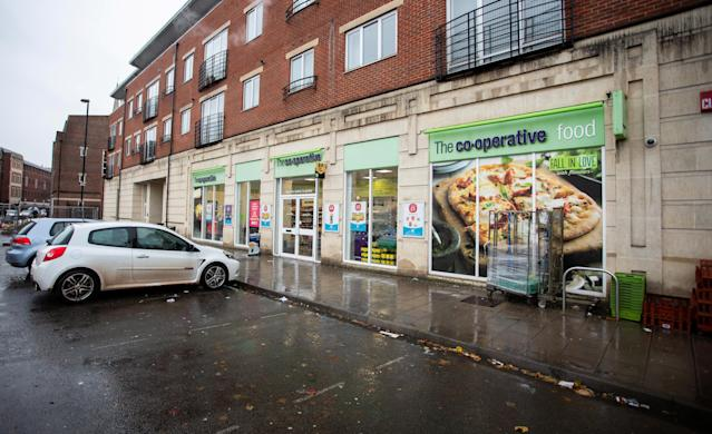 The Co-op store in Redcliffe, Bristol has suffered a spate of thefts (Picture: SWNS)
