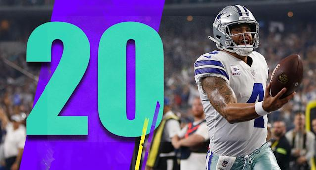 <p>Dak Prescott wasn't playing great but he was never Dallas' biggest problem either. He's still good enough to take Cole Beasley and any other castoffs the front office has given him and play well in a 40-point game against the Jaguars. (Dak Prescott) </p>