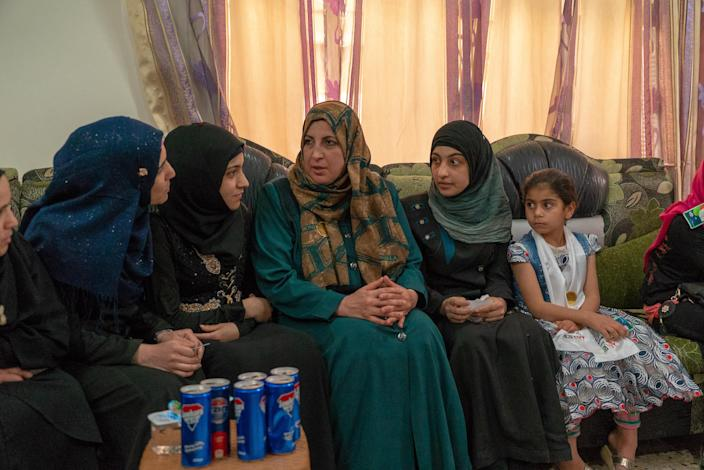 Nawal al-Malaali, a schoolteacher in Mosul, says she hopes to fight the endemic corruption she has seen in the education system in Iraq. (Photo: Shawn Carrié for Yahoo News)