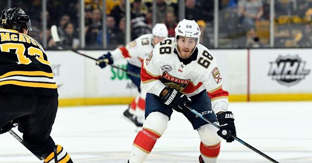 Projected Lines: Florida Panthers visit Boston Bruins