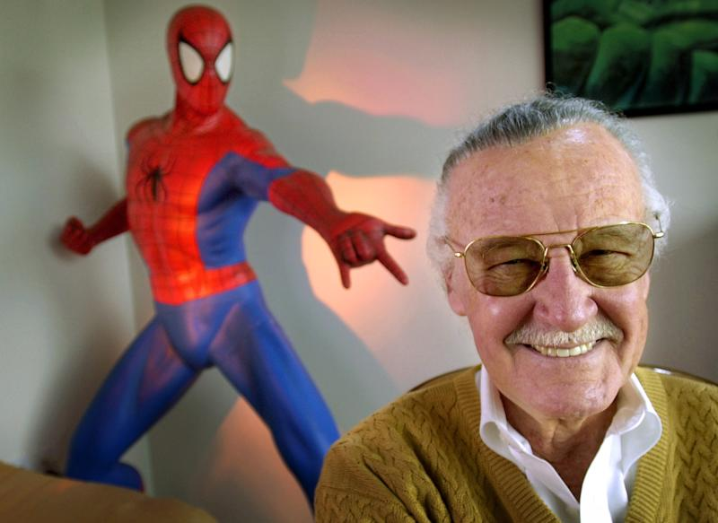 <p>Stan Lee died on Monday aged 95.</p>