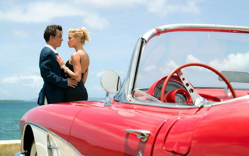 A still from The Rum Diary
