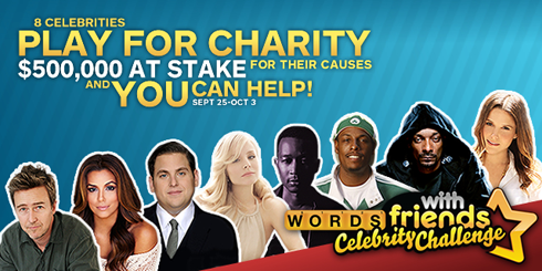 Words With Friends Celebrity Challenge