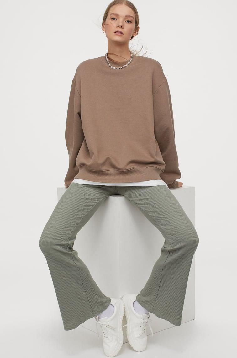<p>These <span>H&amp;M Flared Leggings</span> ($15) are so comfy, you'll wear them all the time.</p>