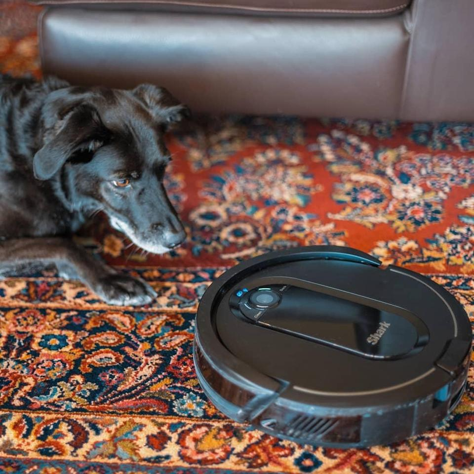 The Shark IQ robovac will clean your house and empty itself.