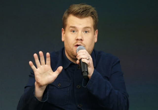 James Corden is also a guest on the podcast. Jonathan Brady/PA Wire