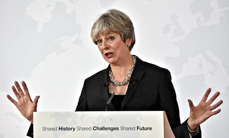 Theresa May hoped her speech in Florence would provide clarity on the UK's Brexit negotiating position: EPA