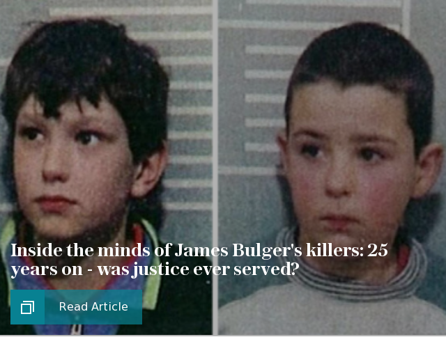 Inside the James Bulger files 25 years on