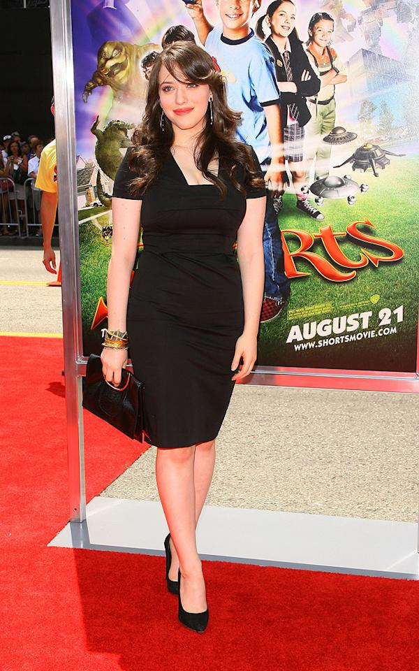 """<a href=""""http://movies.yahoo.com/movie/contributor/1807473847"""">Kat Dennings</a> at the Los Angeles premiere of <a href=""""http://movies.yahoo.com/movie/1810030254/info"""">Shorts</a> - 08/15/2009"""