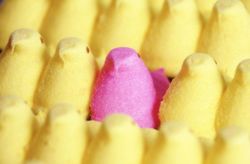 "<p>That makes these colorful marshmallows the most popular non-chocolate Easter candy. The Bethlehem, Pennsylvania, factory makes an impressive <a href=""http://mentalfloss.com/article/56283/20-delicious-facts-about-peeps"" rel=""nofollow noopener"" target=""_blank"" data-ylk=""slk:5.5 million a day"" class=""link rapid-noclick-resp"">5.5 million a day</a>.</p>"