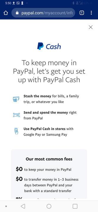 PayPal and Google Pay