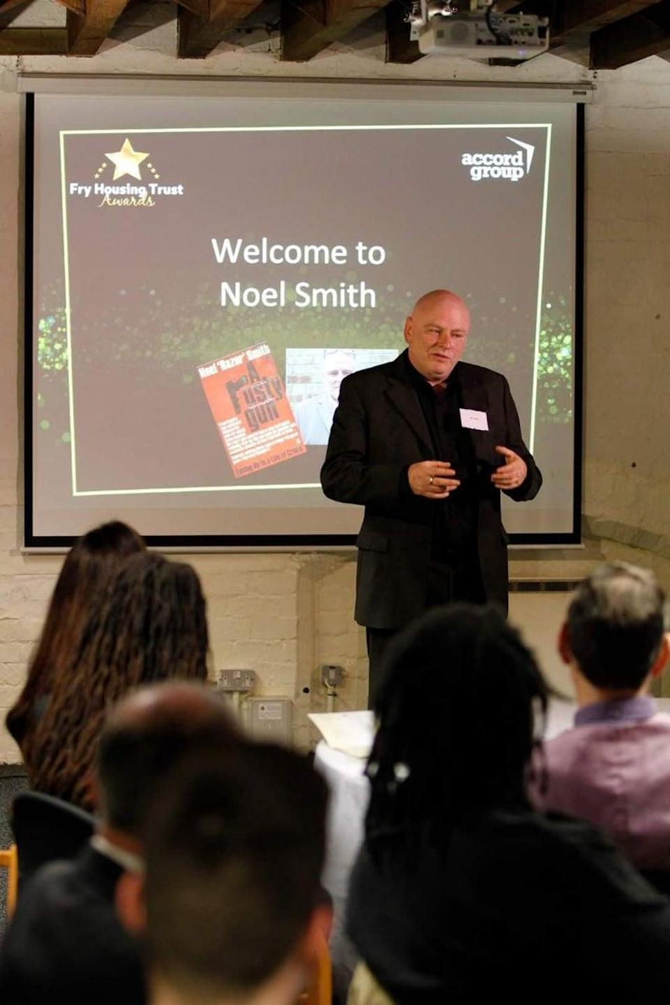 Reformed character Noel Smith is now an editor of a magazine for prisioners (Supplied)