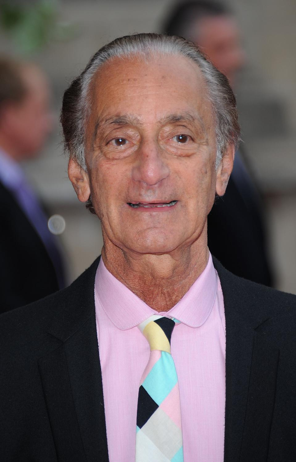 LONDON, UNITED KINGDOM - MAY 15: David Sassoon attends a private view for Ballgowns: British Glamour Since 1950, featuring more than sixty designs from 1950 to the present day, at The V&A on May 15, 2012 in London, England. (Photo by Stuart Wilson/Getty Images)