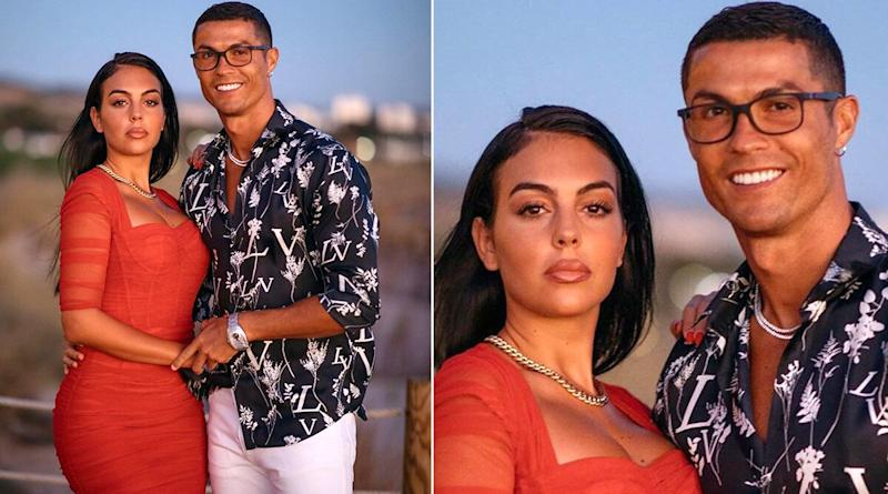 Cristiano Ronaldo Shows His Romantic Side, Dances With Girlfriend Georgina Rodriguez With Glass of Wine and Rose Petals in This Adorable Video
