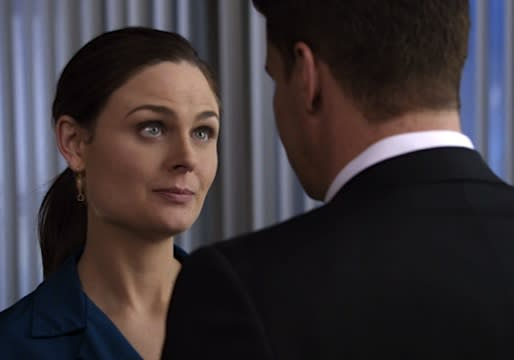 Exclusive (and Awesome) Bones Video: Brennan Orders Booth, 'You Are Not Allowed to Die'