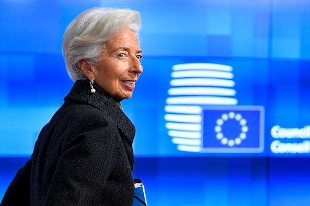 La presidenta del Banco Central Europeo (BCE), Christine Lagarde (Foto: John THYS / AFP vía Getty Images)