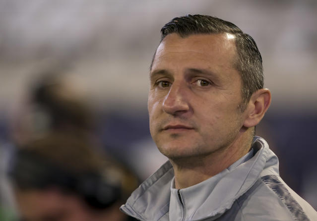 USWNT coach Vlatko Andonovski is leaning on veterans, not young stars, in Olympic qualifying. (Photo by Andrew Bershaw/Icon Sportswire via Getty Images)