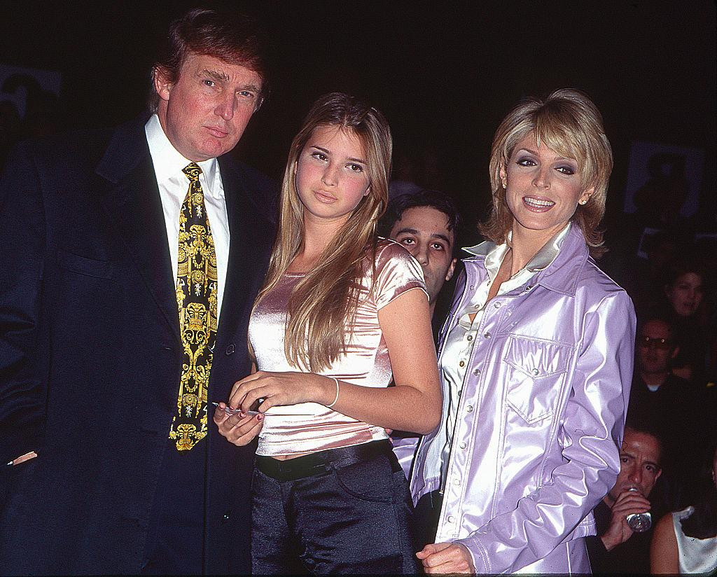 <p>Ivanka goes a little lighter and longer with her hair and adds a rosy-pink pop of color to her complexion. (Photo: Getty Images) </p>