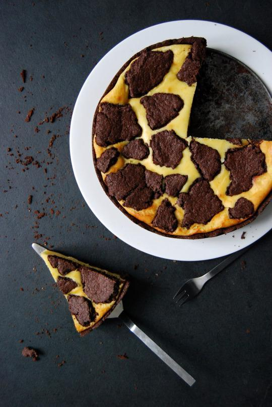 Chocolate Ricotta Cheesecake Recipe From Eat In My Kitchen
