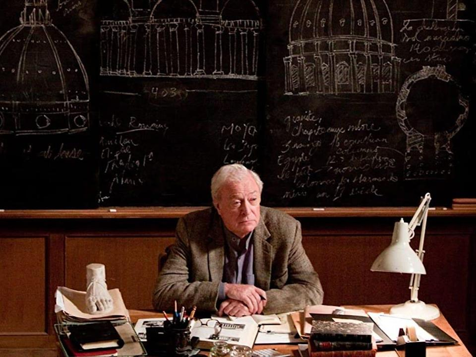 "Michael Caine appeared in ""Inception."""