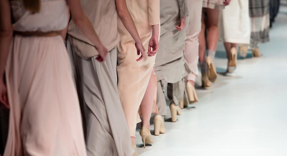 The viral trend highlights the lack of representation in parts of the fashion industry (Getty Images)