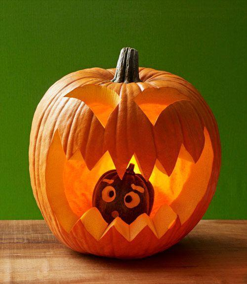 <p>Mini pumpkins, watch out. This clever design will gobble up any gourd — no matter the size — in its way. </p>