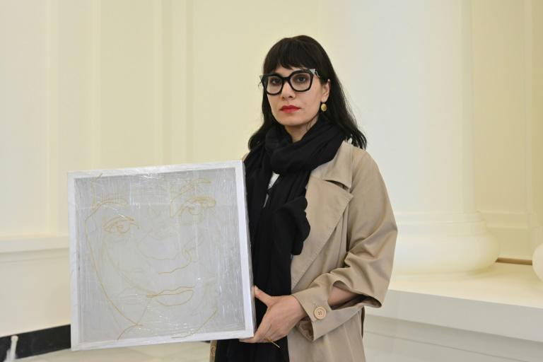 Rada Akbar's latest exhibition was forced online after she faced threats for her work showcasing some of the nation's powerful female figures