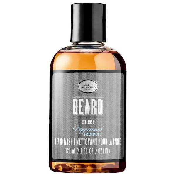 <p>Just 'cause <span>The Art of Shaving Beard Wash - Peppermint Essential Oil</span> ($15) smells like candy canes doesn't mean it's only good to use at Christmastime. It removes dirt, oil, and other impurities from a beard, and leaves just smooth, shiny hair and moisturized skin behind. Now, that's sweet.</p>