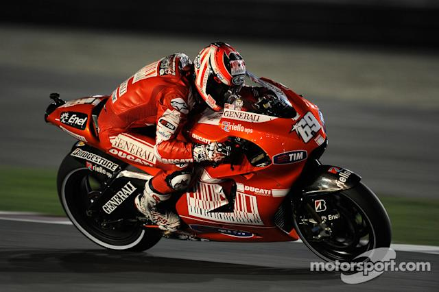 "#69 Nicky Hayden <span class=""copyright"">Ducati Corse</span>"