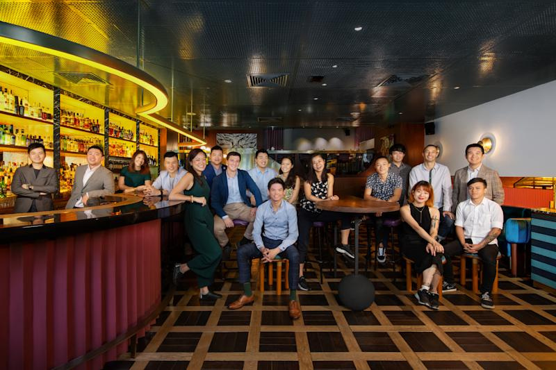 The team at Singapore's Jigger & Pony, named the top bar in Asia of 2020 by Asia's 50 Best Bars, an industry bar ranking. (Photo: Asia's 50 Best Bars)