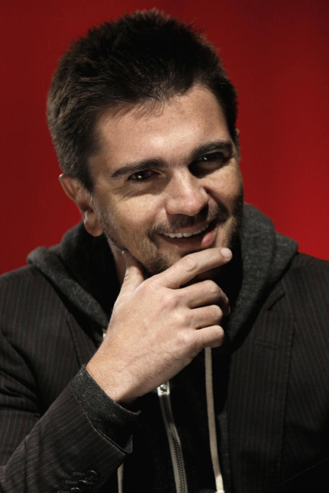 Colombian singer Juanes is interviewed in New York, Monday, Dec. 6, 2010.