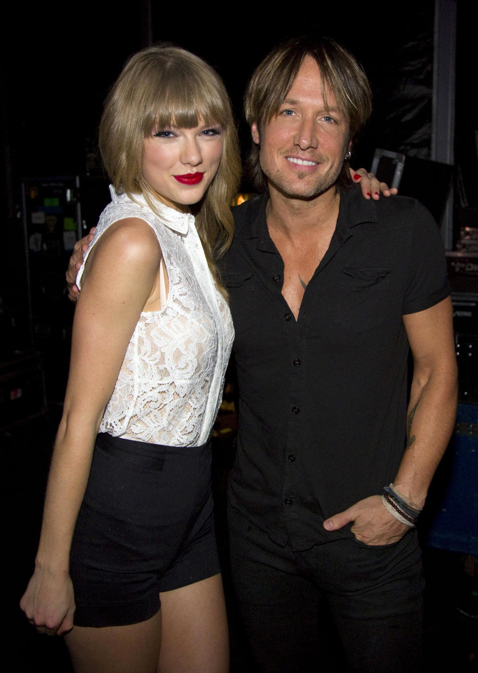 Taylor Swift teased a potential collaboration with Keith Urban. (Photo by Chris Hollo/Walt Disney Television via Getty Images)