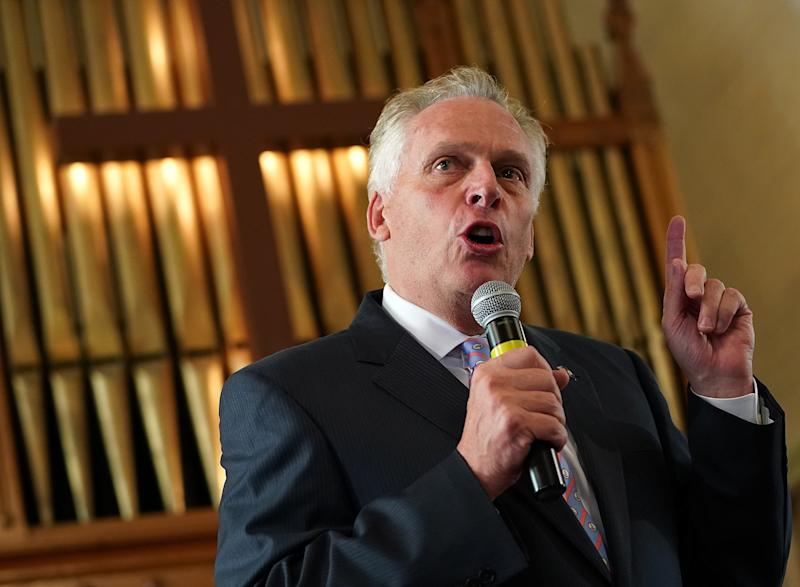 Former Virginia Gov. Terry McAuliffe (D) thinks lawmakers should consider pursuing impeachment against President Donald Trump. (Win McNamee via Getty Images)