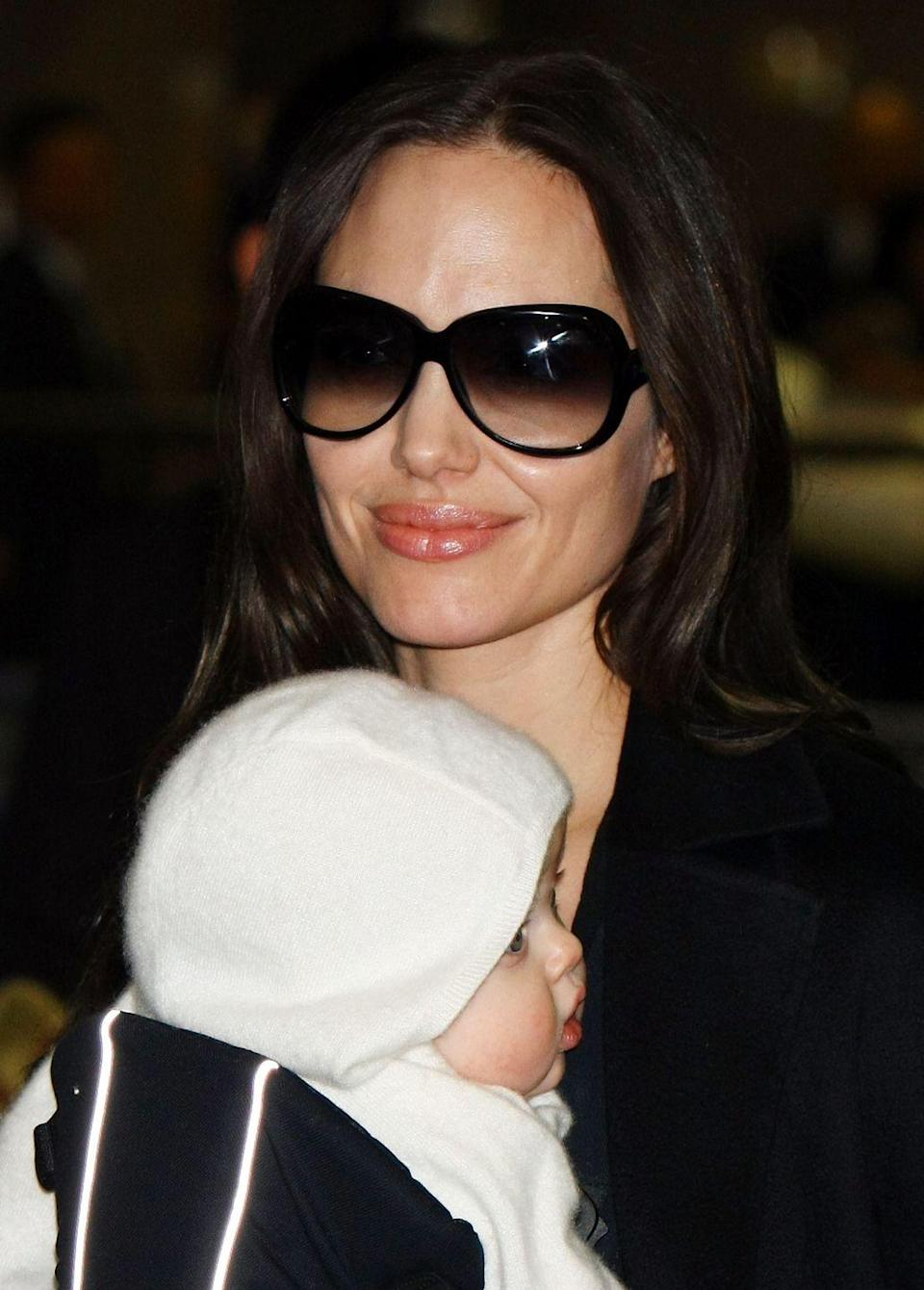 <p>Parents still loved Jacob, Michael, Emily, and Isabella but Ethan and Isabella also stole top 3 spots. But another major name that year was Shiloh. Brad Pitt and Angelina Jolie gave the name to their first biological child in May 2006, so by 2007, the name came blasting onto the charts at 788 — and rising.</p>