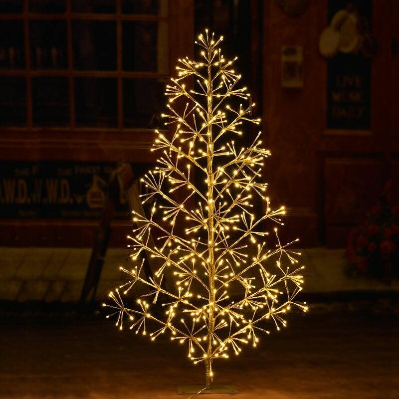 """<br><br><strong>The Holiday Aisle</strong> Silver Fir Artificial Christmas Tree, $, available at <a href=""""https://go.skimresources.com/?id=30283X879131&url=https%3A%2F%2Ffave.co%2F3e35V37"""" rel=""""nofollow noopener"""" target=""""_blank"""" data-ylk=""""slk:Wayfair"""" class=""""link rapid-noclick-resp"""">Wayfair</a>"""