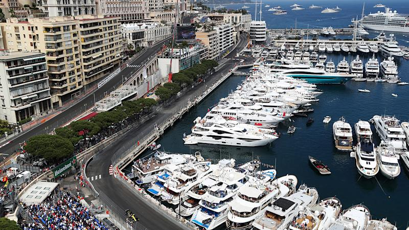 The Monaco Grand Prix, pictured here during the 2019 race.